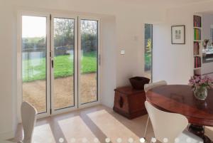 bifold doors with extension